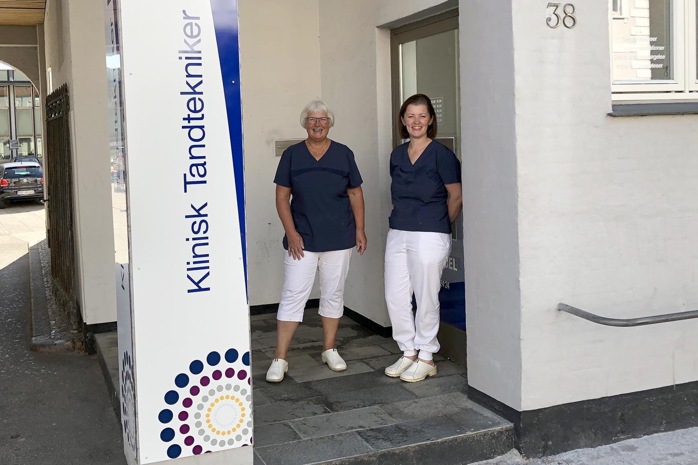 Elke Nebel og Mira Nebel tandtekniker i Haderslev Vojens og Christiansfeld